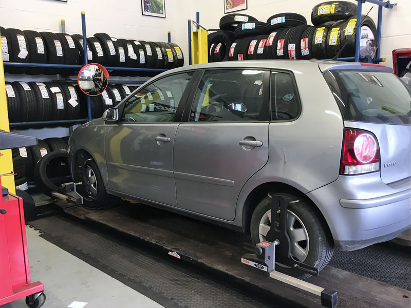 Tyre Fitting and Wheel Alignment at Flomar Garage