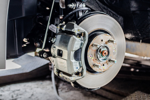 Replace Brake Discs and Pads